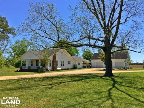 Frisco City Farm House : Frisco City : Monroe County : Alabama
