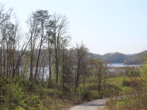 1 Acre Lot W/ Seasonal Lake View : Bean Station : Grainger County : Tennessee