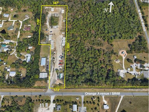 8Ac Site With Commercial Zoning : Fort Pierce : Saint Lucie County : Florida