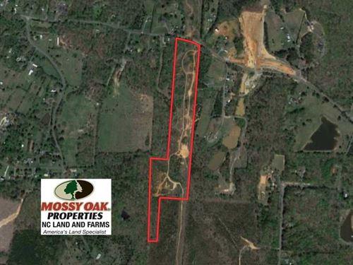 19.56 Acres of Residential Land Fo : Asheboro : Randolph County : North Carolina
