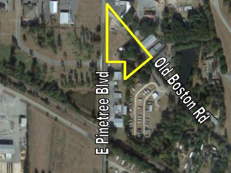 Dev Property/Potential Self-Storage : Thomasville : Thomas County : Georgia