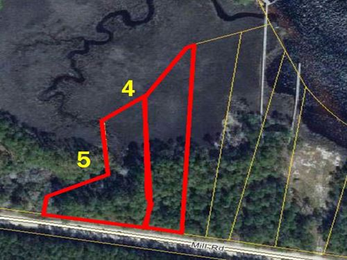 New River Paradise Lots 4 & 5 : Carrabelle : Franklin County : Florida