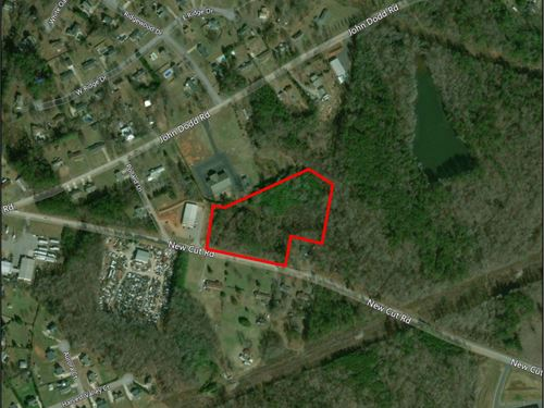 6.75 Acres Close To Amazon : Spartanburg : South Carolina