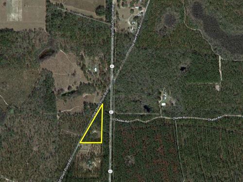Wakulla Triangle : Crawfordville : Wakulla County : Florida