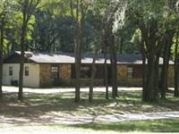 Adorable 2.7 Acre Ranchette 4Bd/2Ba : Brooksville : Hernando County : Florida