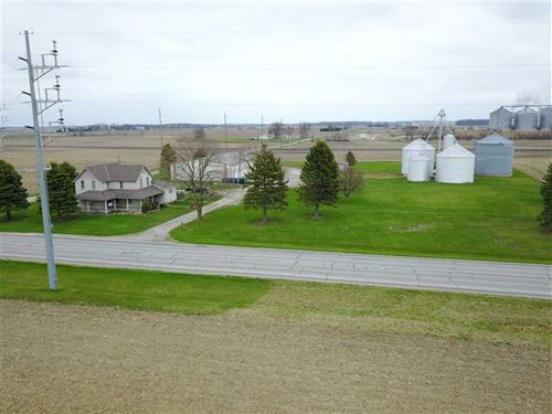 8479 N State Road 13 Farm House : North Manchester : Wabash County : Indiana
