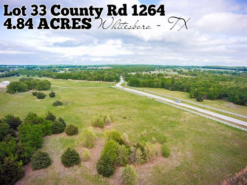 4.84 Acres In Cooke County : Whitesboro : Cooke County : Texas