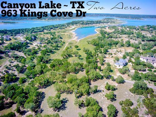 2 Acres In Comal County : Canyon Lake : Comal County : Texas