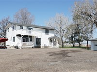 South Platte Farm House : Kersey : Weld County : Colorado