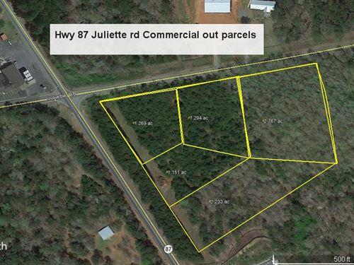 Juliette Road Commercial Outparcels : Juliette : Monroe County : Georgia