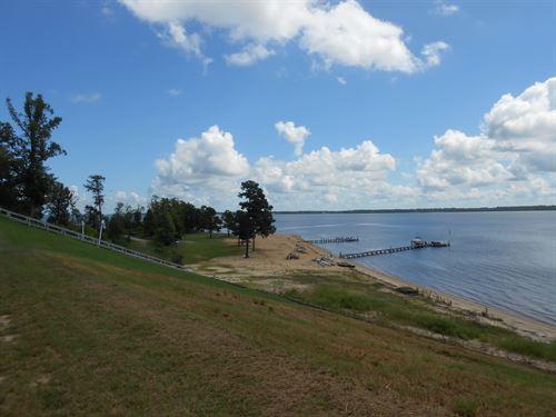 Premier Waterfront Lot/Eastern Nc : Colerain : Bertie County : North Carolina