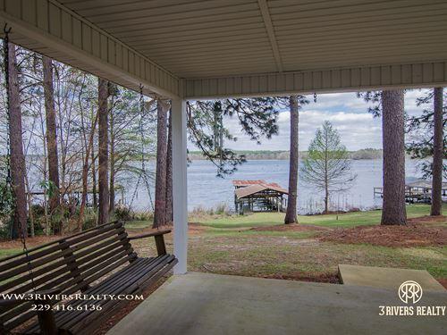 Bucket List Worthy Lake Cabin : Donalsonville : Seminole County : Georgia