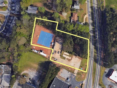 Commercial Site Selling Absolute : Stone Mountain : Dekalb County : Georgia