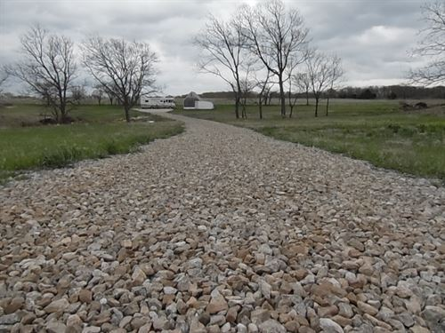 Over 6 Acre Building Site W/ A Pond : Osage City : Osage County : Kansas