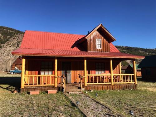 Cozy Cabin : Lake City : Hinsdale County : Colorado