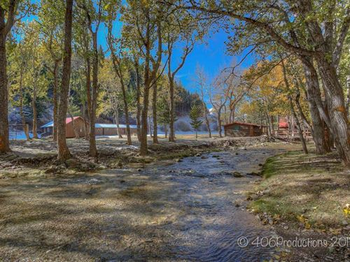 Ford Creek Guest Ranch : Augusta : Lewis And Clark County : Montana