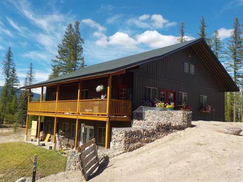 Western Montana Farmstead : Condon : Missoula County : Montana