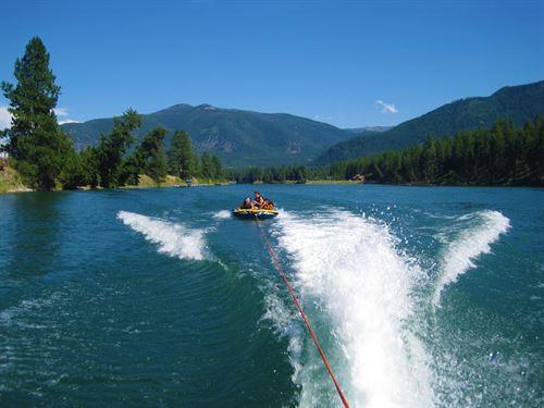 Clark Fork Fishing Oasis : Thompson Falls : Sanders County : Montana