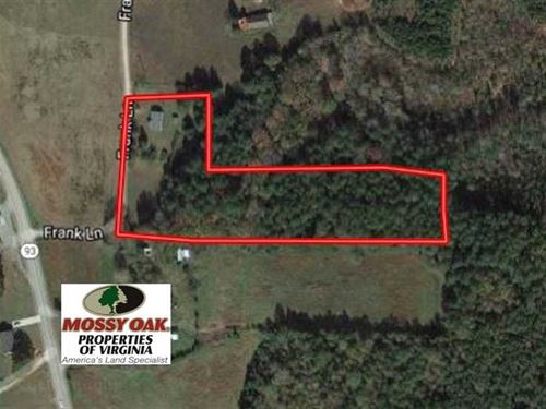 5 Acres of Residential Land in Mec : Bracey : Mecklenburg County : Virginia