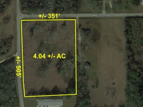 4.04 Ac Medical Complex Dr : Tomball : Harris County : Texas