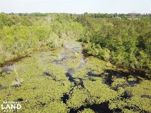 Mill Pond Homesite : Aynor : Horry County : South Carolina