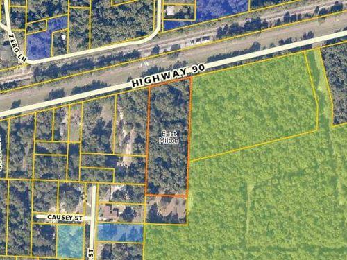 Santa Rosa, Fl $250,000 Neg : Milton : Santa Rosa County : Florida