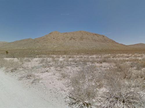 Hudspeth County, Tx $25,000 Neg : El Paso : Hudspeth County : Texas
