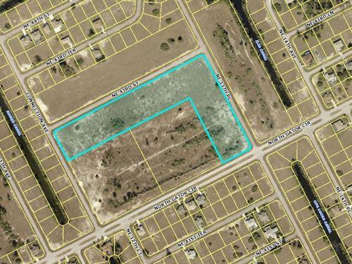 9.07 Acres In Cape Coral, FL : Cape Coral : Lee County : Florida