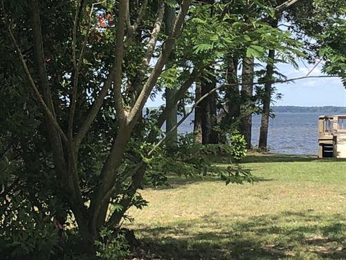 Water View / Water Access Lot : Roper : Washington County : North Carolina
