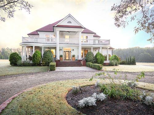 Beautiful Colonial/Traditional Home : Monroe : Walton County : Georgia