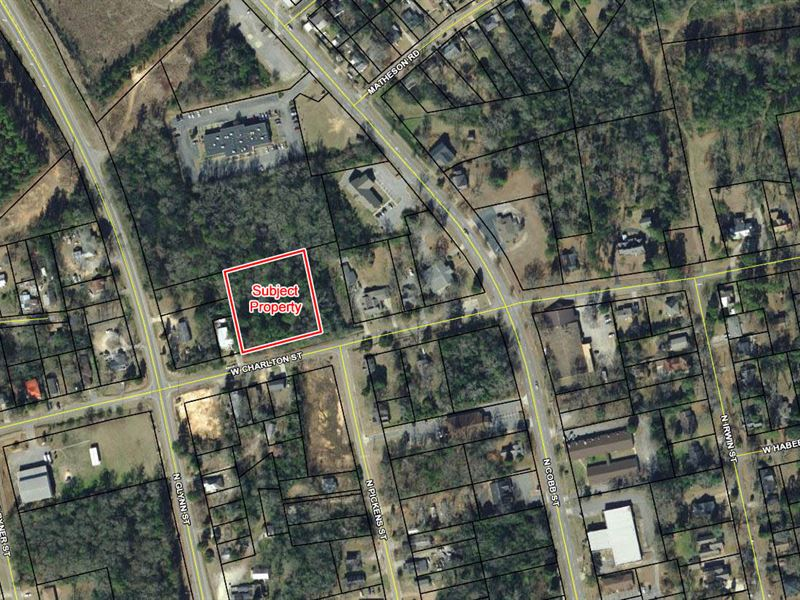 1.17 Acres, Commercial Potential : Milledgeville : Baldwin County : Georgia