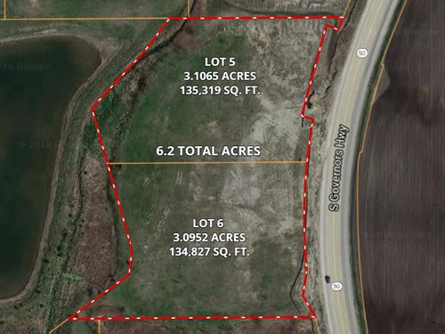 6.2 Ac Monee Rt 50 Commercial : Monee : Will County : Illinois