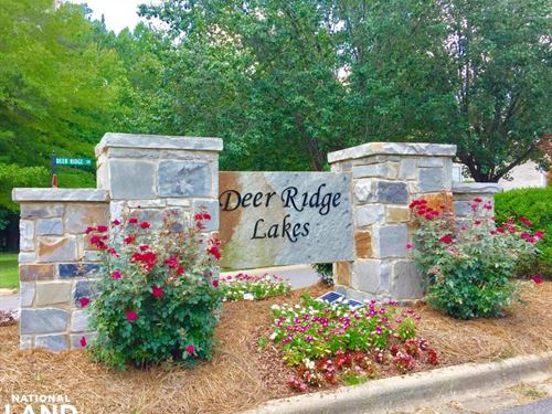 Deer Ridge Lakes Lot 606 in Pelham : Pelham : Shelby County : Alabama