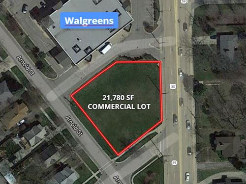 Commercial Lot Plainfield : Plainfield : Will County : Illinois