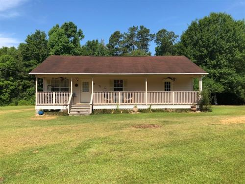 Secluded Home & 9.58 Acres : McComb : Pike County : Mississippi