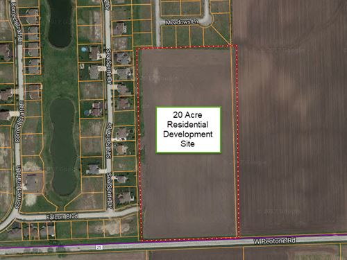 20 Ac Wilmington Residential : Wilmington : Will County : Illinois