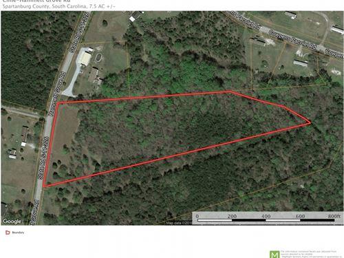 7.5 Unrestricted Acreage Near : Spartanburg : South Carolina