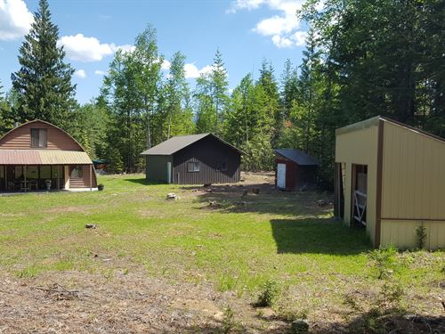 Fox Glen Hide-Away : Sandpoint : Bonner County : Idaho
