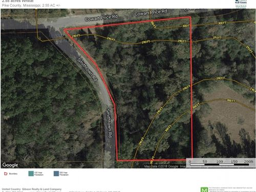 Small Acreage North Pike Mobile Hom : Summit : Pike County : Mississippi