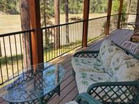 Western Montana 2005 Riverside Home : St Regis : Sanders County : Montana