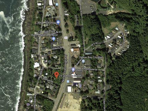 .21 Acres In Depoe Bay, OR : Depoe Bay : Lincoln County : Oregon