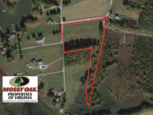 Under Contract, 4.8 Acres of Wate : Susan : Mathews County : Virginia