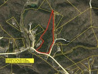 Wildlife, Wooded, Stream : Pickens : Pickens County : South Carolina