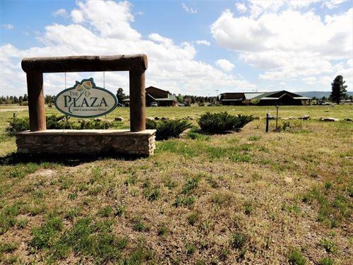 The Plaza - Vacant Lot : Pagosa Springs : Archuleta County : Colorado