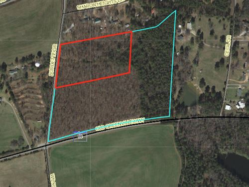 Wooded Residential : Liberty : Anderson County : South Carolina