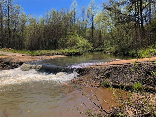 Oconee Creek Frontage : Walhalla : Oconee County : South Carolina
