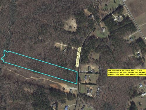 Wooded Acreage : Honea Path : Anderson County : South Carolina