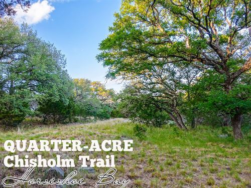 .23 Acres In Burnet County : Horseshoe Bay : Burnet County : Texas