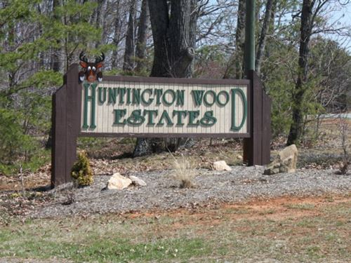 Wooded Lot In Va Priced To Sell : Bedford : Virginia
