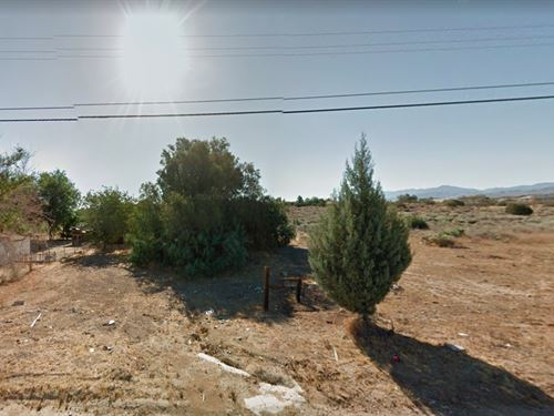 .13 Acres In Palmdale, CA : Palmdale : Los Angeles County : California